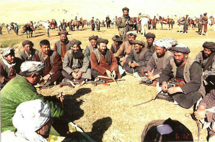 Dostum's men were a loose alliance that grew with every victory against the Taliban