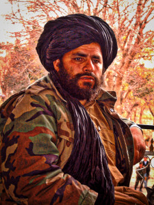 Mullah Faizel, commander of the Taliban Army in the North. © Robert Young Pelton, all rights reserved