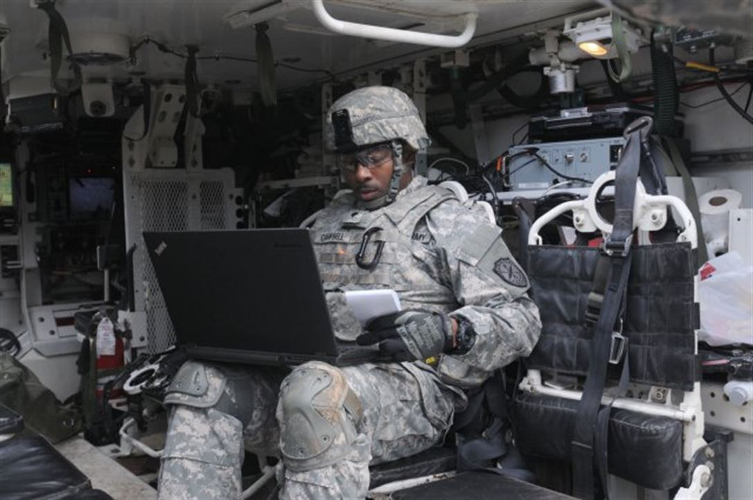 The military has some of the most sophisticated computer tools and techniques. The problem is we fight wars in counties where the even electricity is an innovation.